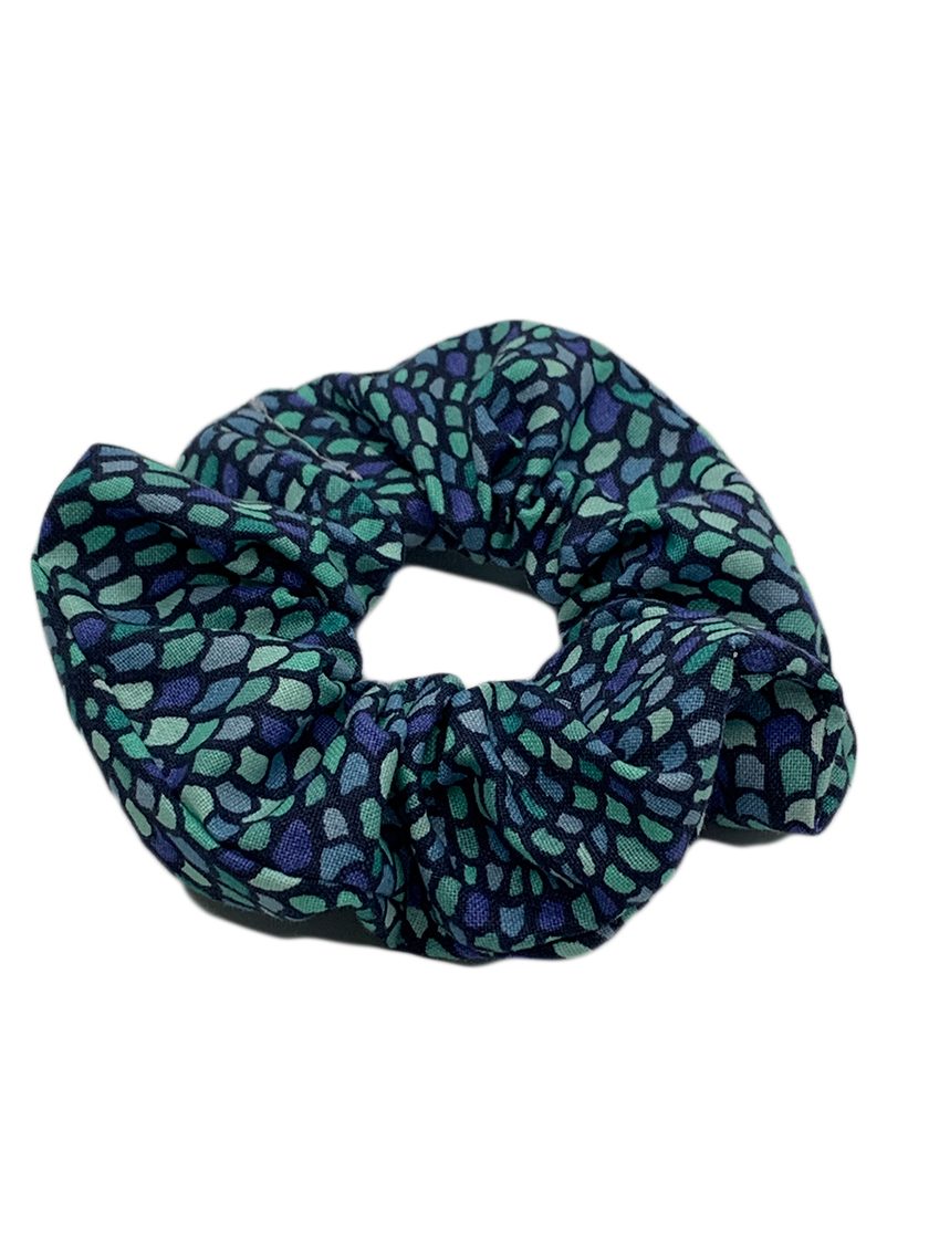 Blue Vibes Scrunchie