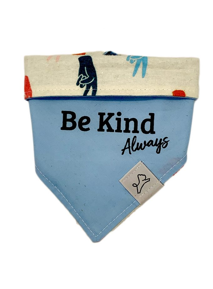 Be Kind Always in Blue